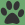 Nature Secrets Paw Icon